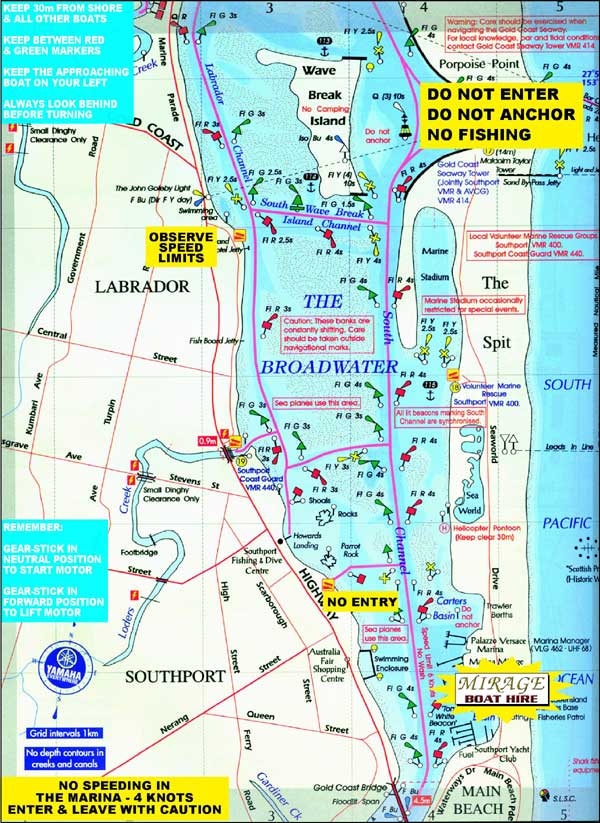 Broadwater Map